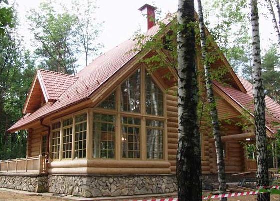 деревянные дома ручной работы