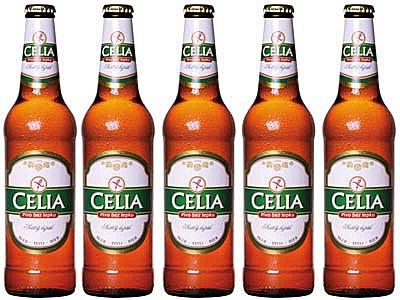 Pivo Celia Gluten-free