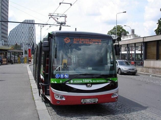 Электробус в Праге